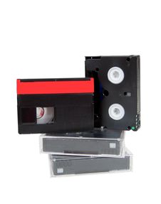 Free Old Analog Video Cassettes Minidv Mini Dv Royalty Free Stock Photos - 20701248