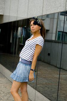 Free Portait Of A Pretty Girl Stock Photo - 20701410