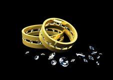 Free Wedding Rings Stock Image - 20701701
