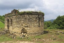 Free Ruins Of Church In Bedia Valley, Abkhazia Stock Image - 20702811