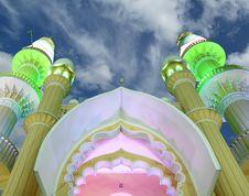 Free Muslim (Arab) Mosque, Kovalam Stock Images - 20704694