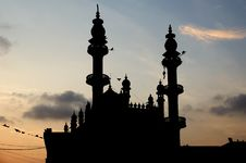 Muslim (Arab) Mosque, Kovalam Royalty Free Stock Photography