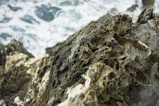Coastal Rocks Royalty Free Stock Photo