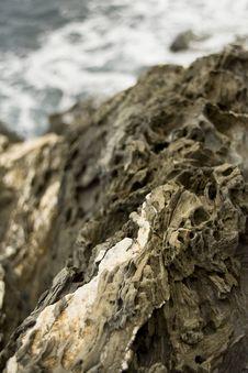 Coastal Rocks Royalty Free Stock Photography