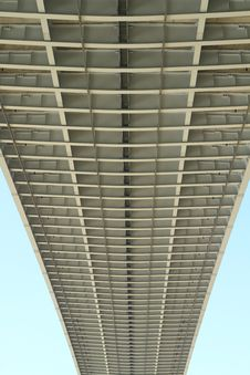 Free Partial Of Bhumibol Bridge In Thailand Royalty Free Stock Photo - 20705835