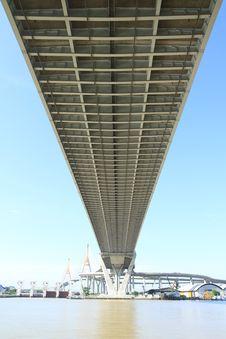 Free Bhumibol Bridge In Thailand Stock Image - 20705841