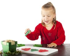 Free Kiddie Dough Cookie Maker Royalty Free Stock Photography - 20706367