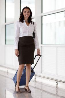 Free Latin Businesswoman Travelling Stock Photography - 20707472