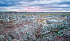 Free Badlands At Sunrise, South Dakota, USA Stock Photo - 20707580