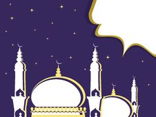 Free Illustration For Ramadan Kareem Royalty Free Stock Image - 20707606