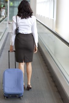 Free Businesswoman Travelling Royalty Free Stock Image - 20707786