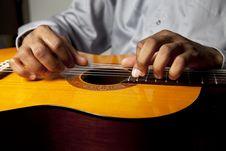 Free Man And Guitar Stock Photos - 20707993