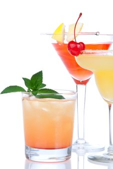Free Cocktails Tropical Martini Alcohol Stock Images - 20708034