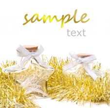Free Holiday Ornament Star Bottle Stock Photos - 20708043