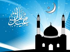 Free Illustration Of Eid Background Stock Image - 20708081