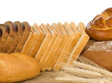Free Bakery Products And Wheat Royalty Free Stock Image - 20708186