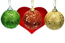 Free Christmas Balls Royalty Free Stock Photos - 20708578