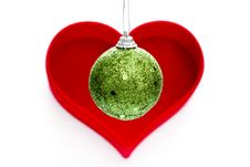 Free Christmas Ball Royalty Free Stock Photos - 20708608