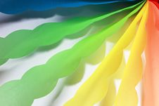 Free Color Origami Ribbons Stock Photo - 20708760