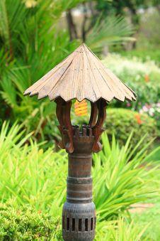 Free Old Stlye Garden Lamp Stock Photo - 20708850