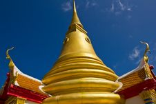 Golden Pagoda Koh Samui Royalty Free Stock Images