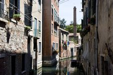 Free Buildings On A Canal In Venice Stock Photo - 20709220