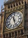 Free Big Ben Clock Face Stock Image - 20712721