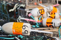 Free Lobster Trap Buoys Stock Photos - 20713163