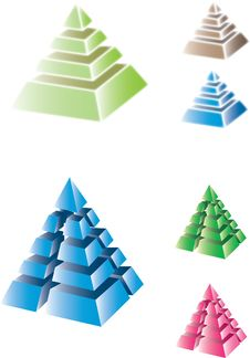 Free Pyramids Royalty Free Stock Photography - 20710627