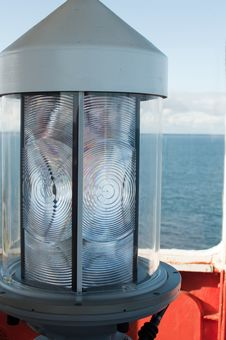 Lighthouse Lens Detail Royalty Free Stock Photos
