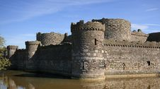 Free Beaumaris Castle Royalty Free Stock Photography - 20711967