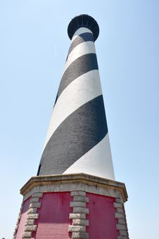 Free Cape Hatteras Lighthouse Royalty Free Stock Photos - 20712618