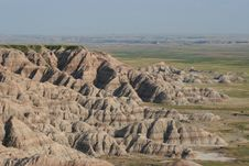 Free Scenic Badlands Landscape Stock Image - 20713831
