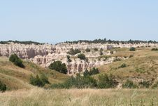 Free Scenic Badlands Landscape Royalty Free Stock Photography - 20713837