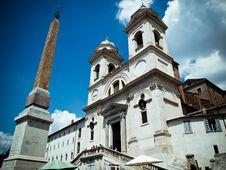 Free Fontana Della Barcaccia In Rome Stock Images - 20714204