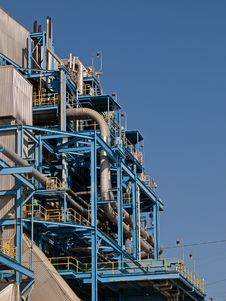 Free Manhattan Beach Power Plant Close Up Stock Photo - 20714310