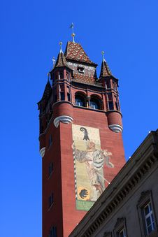 Free Town Hall, Basel Royalty Free Stock Images - 20714329