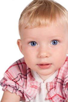 Free Nice Baby Portrait Royalty Free Stock Photography - 20714547