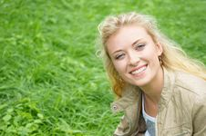 Free Girl At Nature Stock Image - 20714611