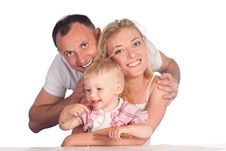 Free Cute Family Drawing Royalty Free Stock Images - 20714679