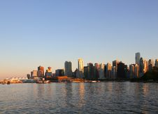 Free Vancouver Evening , Canada Stock Photo - 20715000