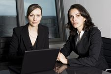 Free Latin Businesswoman In Office Royalty Free Stock Image - 20715566
