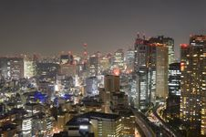 Free Tokyo Cityscape Royalty Free Stock Photo - 20715575