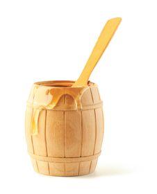 Free Honey Flows On A Keg Royalty Free Stock Image - 20715656