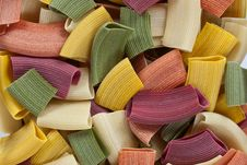 Free Colorful Pasta Stock Photo - 20715790