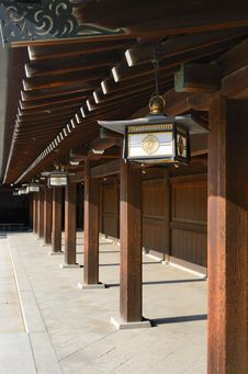 Free Temple At Meiji Shrine Stock Images - 20715814