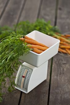 Free Carrot And Scale Stock Photography - 20715832