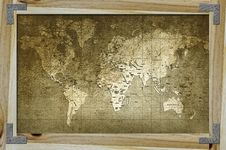 Free World Map Royalty Free Stock Photo - 20715905