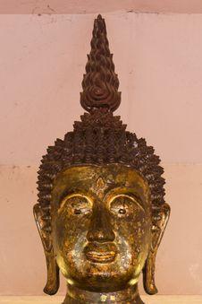 Free Brass Buddha. Stock Images - 20716054