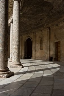 Free Palace Of Charles V, Granada Spain Stock Photography - 20716082